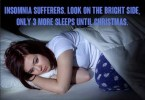 Insomnia Suffers – look on the bright side