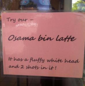 Osama Bin Latte