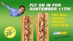 subway 911 deal