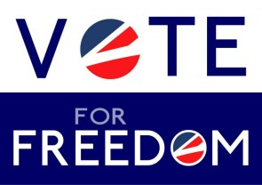 vote for freedom