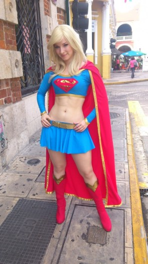 Supergirl Cosplayer