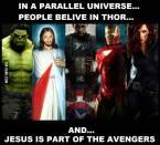 Thor is Jesus