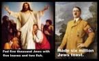 jesus vs hitler