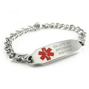 med alert bracelet for geeks