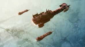 ships fly