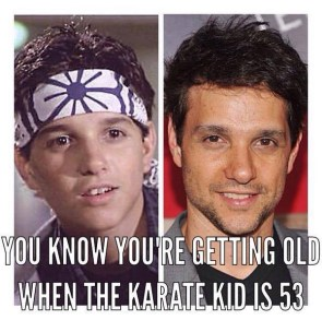 the karate kid is 53