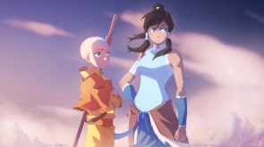 Avatar Ang and Korra
