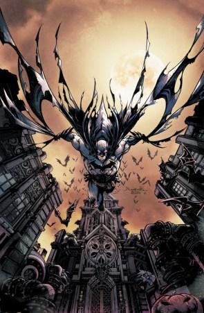 Batman with his pet bats
