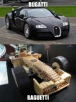 Bugatti vs Baguetti