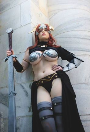 Claudett from Queen's Blade by Abby Dark-Star