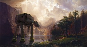 Derelict AT-AT Among the Sierra Nevada