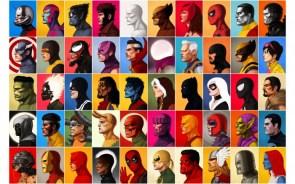 Marvel Headshots