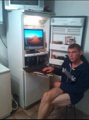 Russian Computer Cooling System Admin