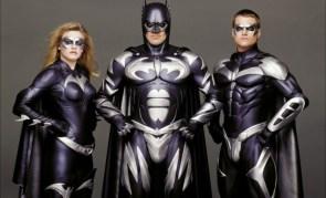 Silver Batfamily from Batman & Robin