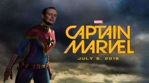 Steve Buscemi is Captain Marvel