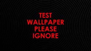 Test Wallpaper Please Ignore