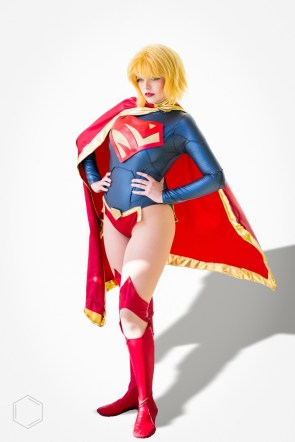 Uparmored Supergirl by Artful Anarchy