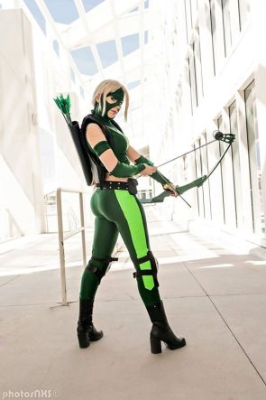 Yoko Mizuhara Cosplay as Artemis – Young Justice