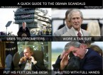 a quick guide to the obama scandals