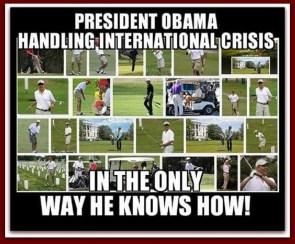 obama handling international crisis