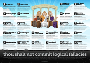 thou shalt not commit logical fallacies