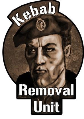 kebab removal unit