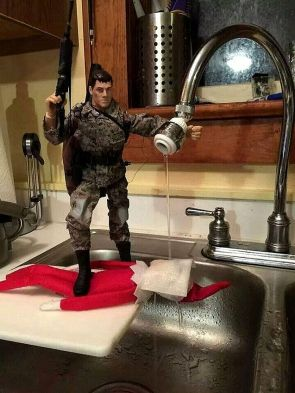 American Elf on a Shelf