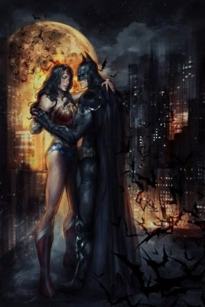 Batman loves Wonder Woman