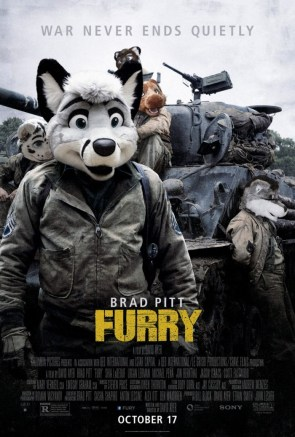 Brad Pitt in Furry