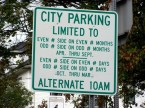 City Parking is Limited