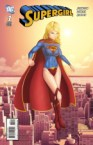 Supergirl is nearly nude on her first issue