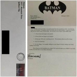 Batman Letter