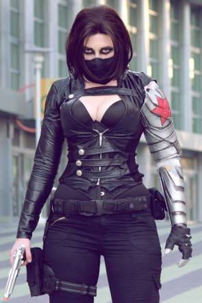 Callie Cosplay as The Winter Soldier