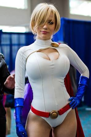 Crystal Graziano as Power Girl