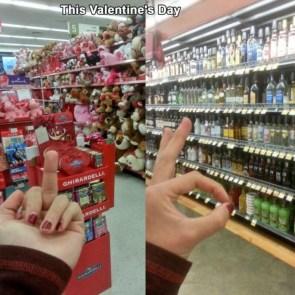 F Valentine's Day