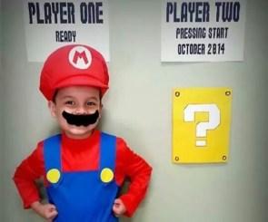 Gamer Baby Announcement