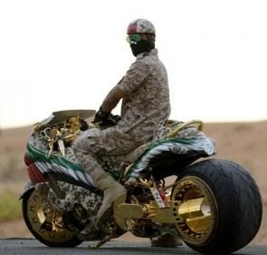 Golden Motorcycles