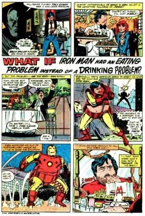 Iron Man's eating problem