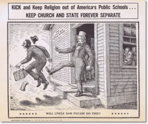 Kick and Keep Religion OUT