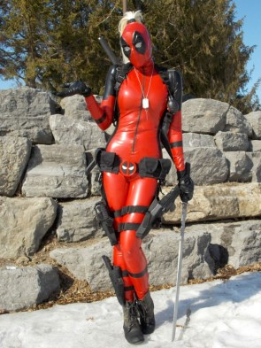 Lady Deadpool by Betty Nukem