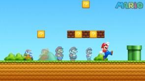 Mario has a history