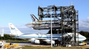 Mounting the Shuttle to a Massive Jet
