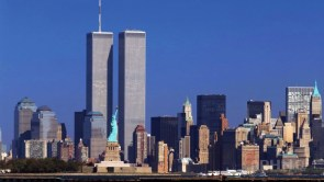 New York with the Twin Towers