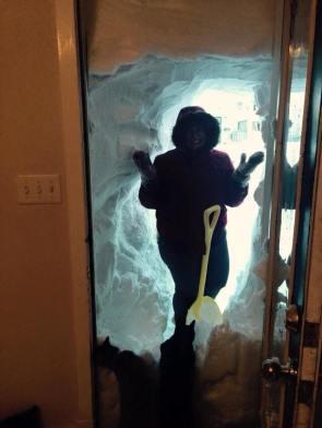 Snow Door Tunnel