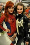 Spider-girl and Lady Venom