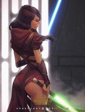 Star Wars ass