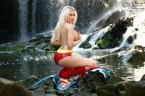 Supergirl skinnydipping By Carrie La Chance