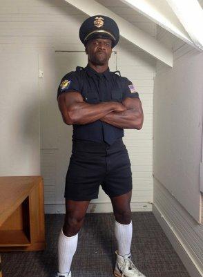 Terry Crews In Uniform