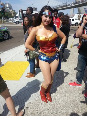 Trisha Hershberger as Wonder Woman