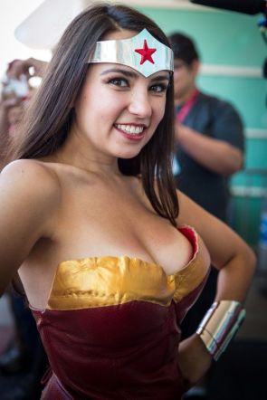 Trisha Hershberger as Wonder Woman – DB